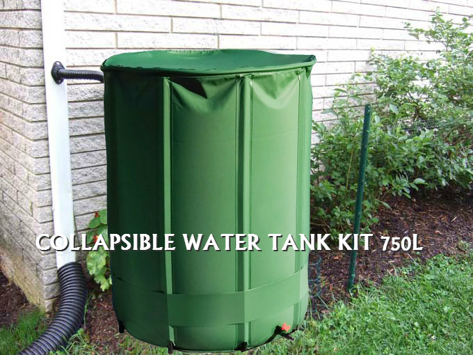Collapsible Water Tanks Claim Your Rainwater Mad Imports